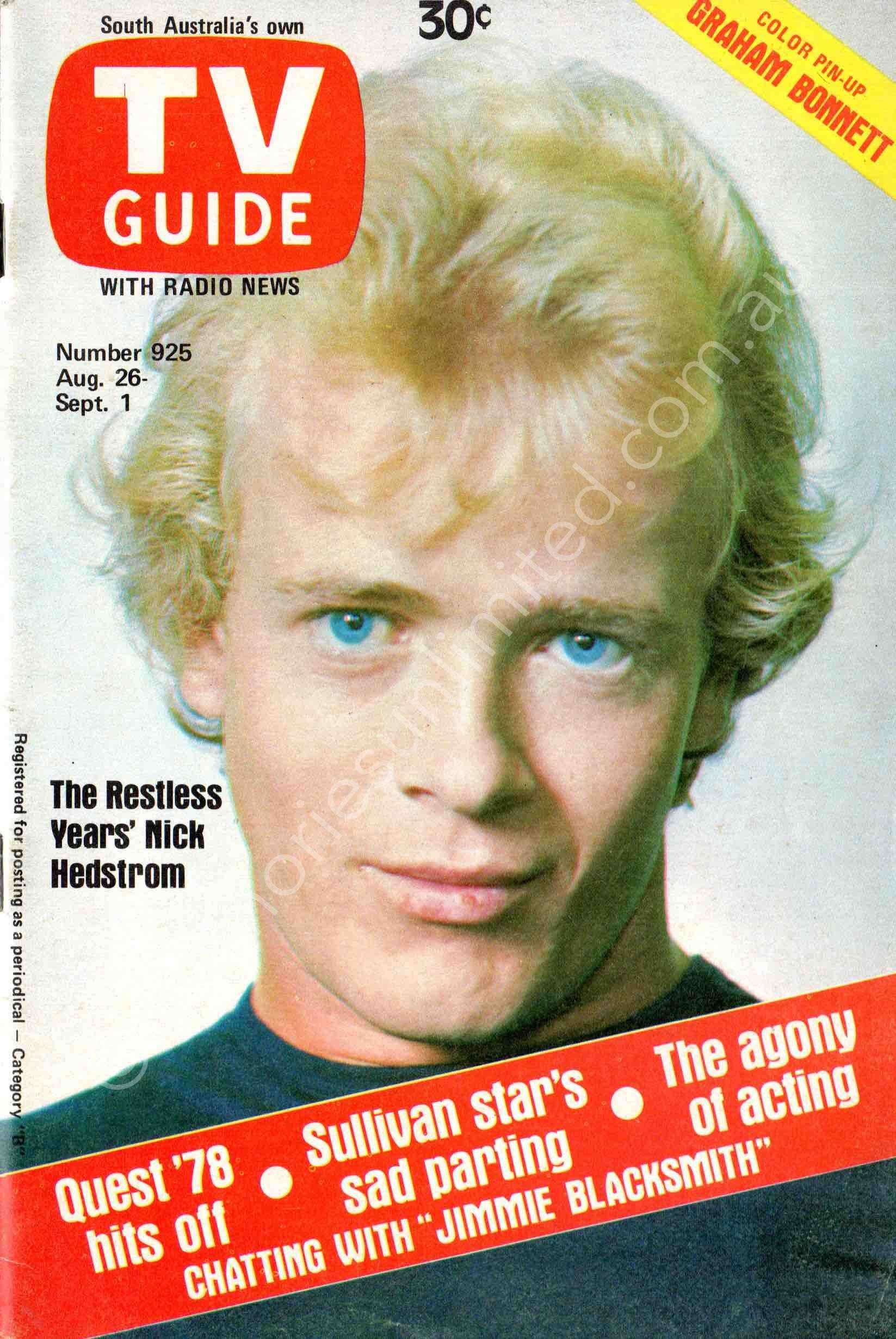 TV Guide 1978 August 26 (South Australia)