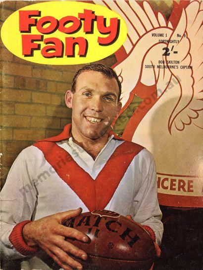 footy fan 1960's 1963, south melbourne, vintage