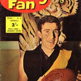 1963, richmond tigers, VFL memorabilia