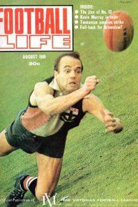 Football Life Oversize Magazine 1969 August