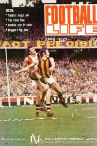 Football Life Oversize Magazine 1972 April