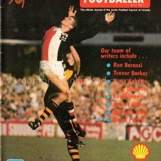 The Australian Footballer, The Junior Footballer 1978