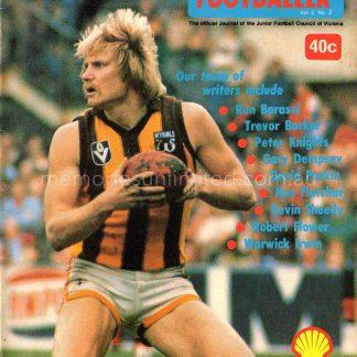 The Australian Footballer Magazine, The Junior Footballer 1978