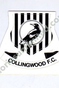 COLLINGWOOD F.C. (1970s DECORATIVE PLAQUE CLUB SHIELD)