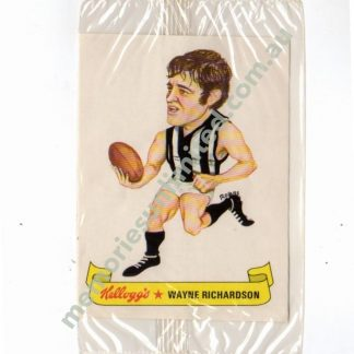 kelloggs, vfl, card, collingwood, afl footy cards rare