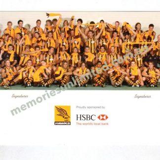 Hawthorn Football Club – Memories Unlimited