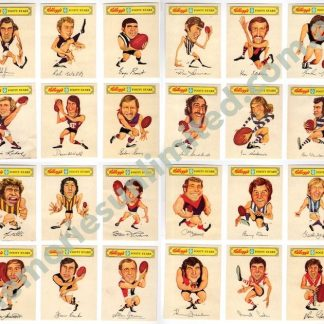 afl footy cards rare, vfl memorabilia, vfl card 1970's, john rogers card, collectables