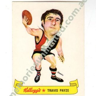 afl footy cards rare, vfl collectables, collection