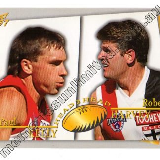 AFL Footy card, select, rare, case card