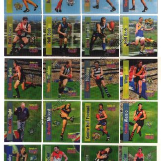 TATTSLOTTO MAGIC VISION LEGEND SERIES MAGNETS, afl footy rare card, 1990's, collectables, vintage, melbourne,