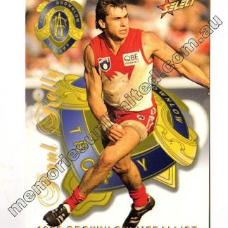 AFL Footy card, select, rare, case card, 1996