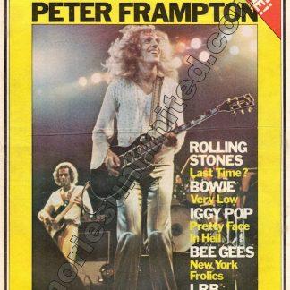 RAM, Rock Australia Magazine, vintage, 1970's, Pop culture, music, rare, collectables, memorabilia