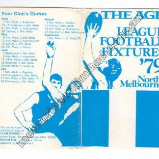 AFL VFL MEMORABILIA, FIXTURE, MATCHPROGRAMME