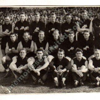 VFL AFL memorabilia, collectables, aussie rules, Australian Football, footy, photo, 1957