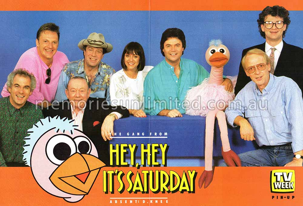 HEY, HEY ITS SATURDAY CAST - Memories Unlimited
