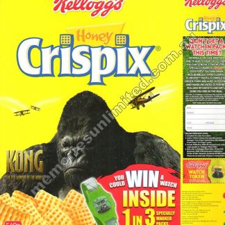 Advertising, collectables, memorabilia, rare, vintage, cereal package box, culture, crispix, retro, kellogg's