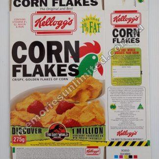 Advertising, collectables, memorabilia, rare, vintage, cereal package box, culture, cornflakes, retro, kellogg's