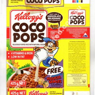 Advertising, collectables, memorabilia, rare, vintage, cereal package, culture, cornflakes, retro, kellogg's