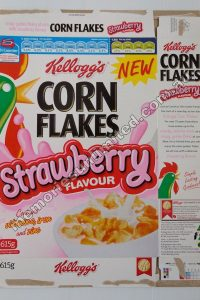 STRAWBERRY FLAVOUR (2007 KELLOGG'S 615G DISASSEMBLED BOX)