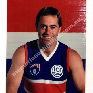 VFL AFL memorabilia, collectables, aussie rules, Australian Football, footy, photo, Footscray, Western Bulldogs