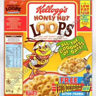 Kellogg's vintage cereal package boxes, Collection, rare, Honey Nut Loops