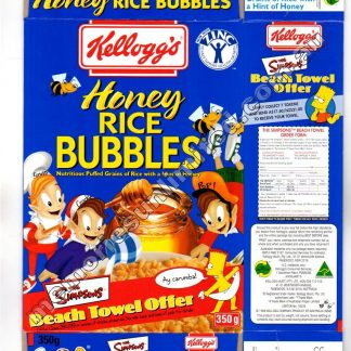 vintage cereal package boxes, Collection, rare, collectable, culture, rive bubbles