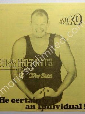 1985 04 12 MARK 'JACKO' JACKSON