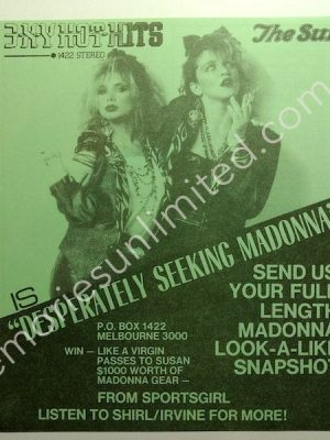 1985 07 26 'DESPERATELY SEEKING MADONNA'