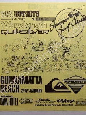 1985 12 20 'SUMMER SURF CLASSIC'